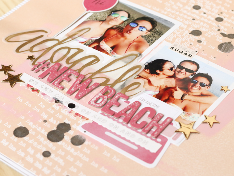 Layout Scrapbooking… Adorable