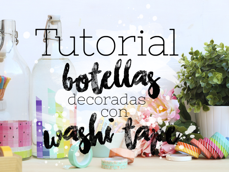 Decorar con WASHI TAPE