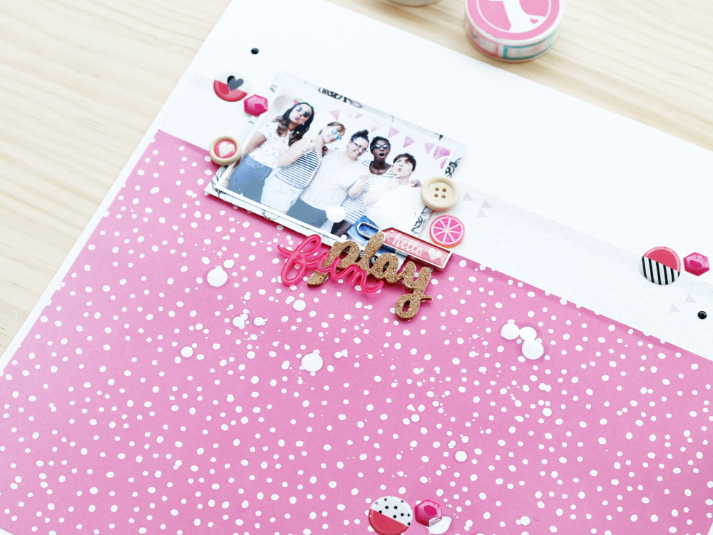 Scrapbooking con Freckled Fawn