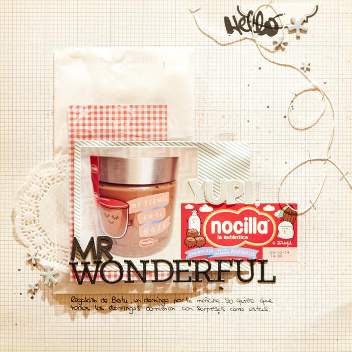 Layout Nocilla de Mr Wonderful