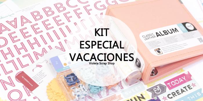 Kit Scrapbooking especial Vacaciones
