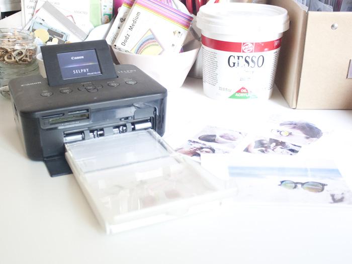 Como usar la impresora CANON SELPHY CP800