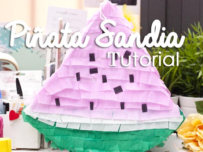 Tutorial… Piñata Sandía