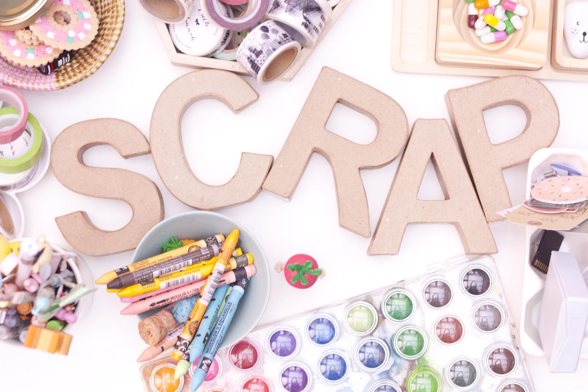 ¿Qué es el SCRAPBOOKING?