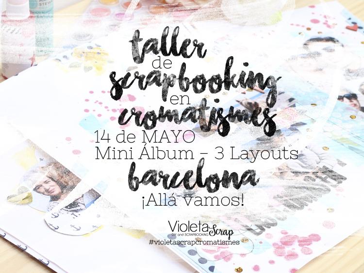 Taller de Scrapbooking en Cromatismes (Barcelona)
