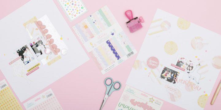 Paper Fest… Layouts